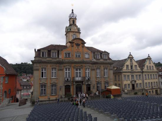 Rathaus: Вид на ратушу