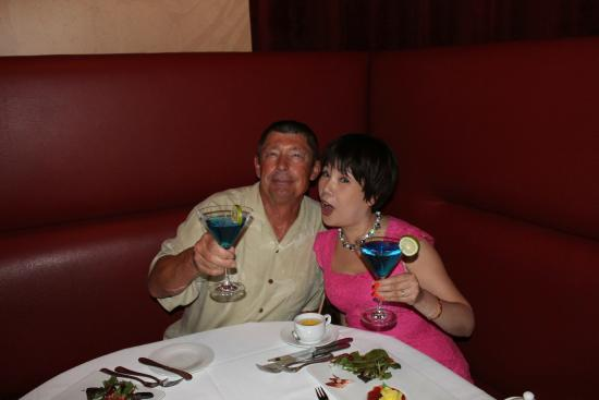 Ciera Steak & Chophouse: Enjoying a great meal
