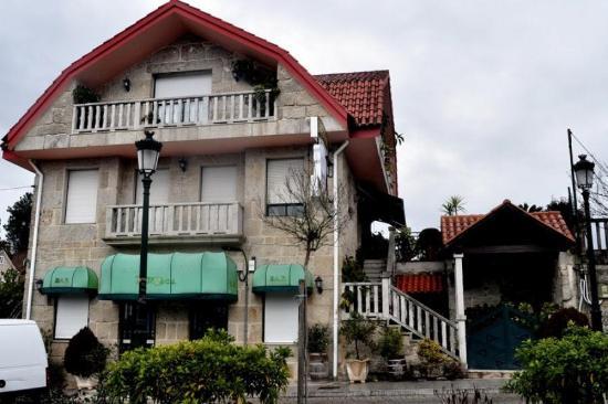 Restaurante O Rianxo, en el centro de VILLASOBROSO Galicia