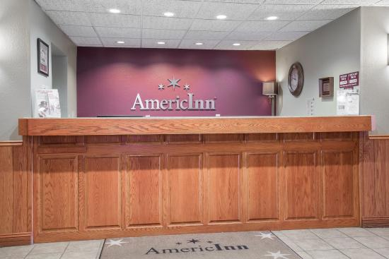Americ Inn Baldwin WIFront Desk