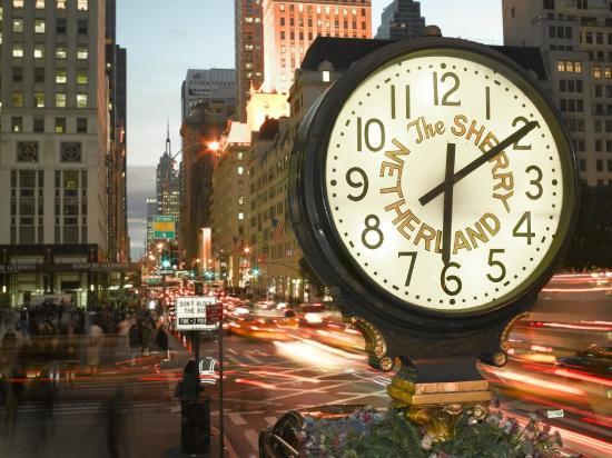 The Sherry-Netherland Hotel: The Sherry-Netherland Clock