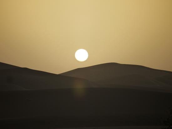 M'hamid Bivouac - Chez Naji: Sunset at Chez Naji