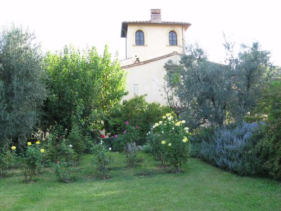 Villa Il Paradisino: the site of the wedding