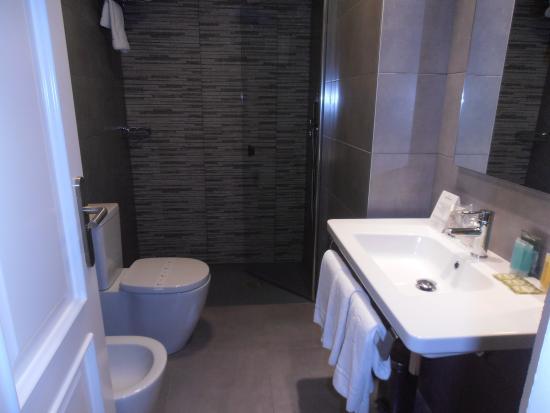 Hotel Avenida: Baño accesible