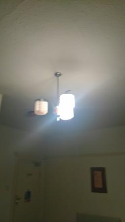 The New Beehive Inn: Light bulbs not working and lights flicker when other electrics turned on