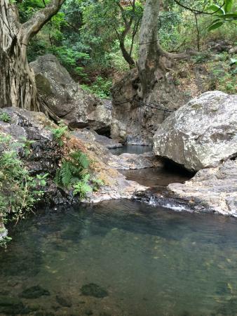 Cascada Los Azules: para nadar