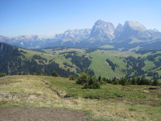 Seis am Schlern, Italien: Panoramica