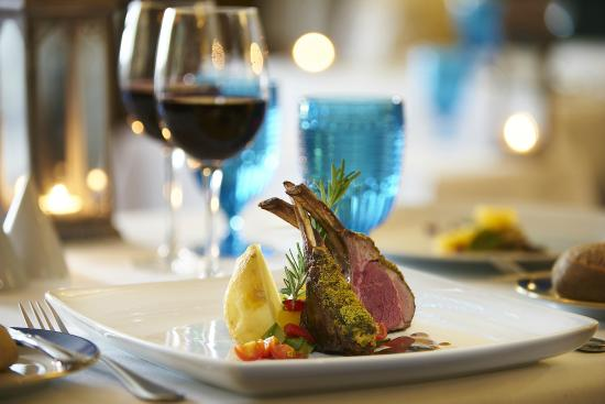 Med Restaurant | Roast Rack of Lamb