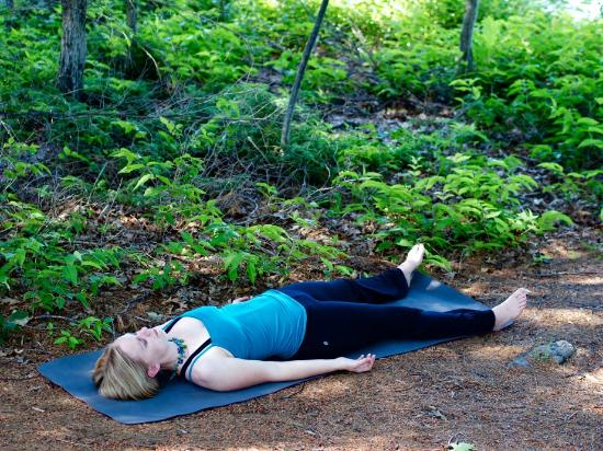 Severn Bridge, Canada: Relaxing Yoga