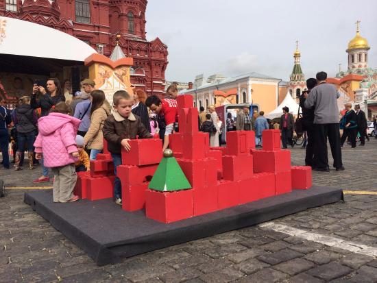 красная площадь картинки для детей