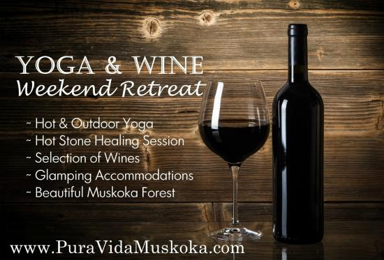 Severn Bridge, Kanada: Yoga & Wine Retreat
