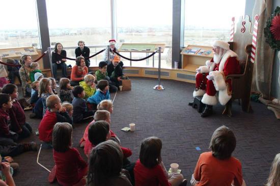 Longmont Museum & Cultural Center: Santa telling stories at Longmont Museum