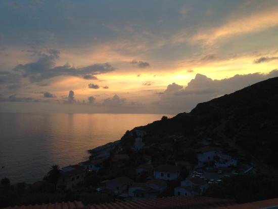 Chiessi, إيطاليا: Vista da camera