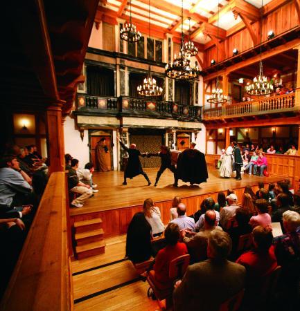 Staunton, VA: The American Shakespeare Center production of Hamlet