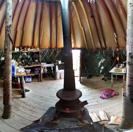 Orland, ME: 360 Panoramic of the interior