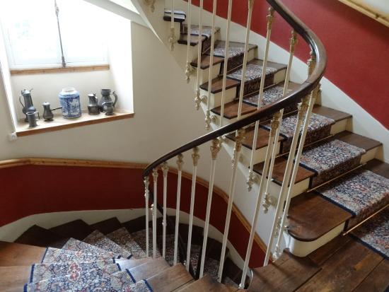Chateau de Lannuguy : L'accès à notre chambre