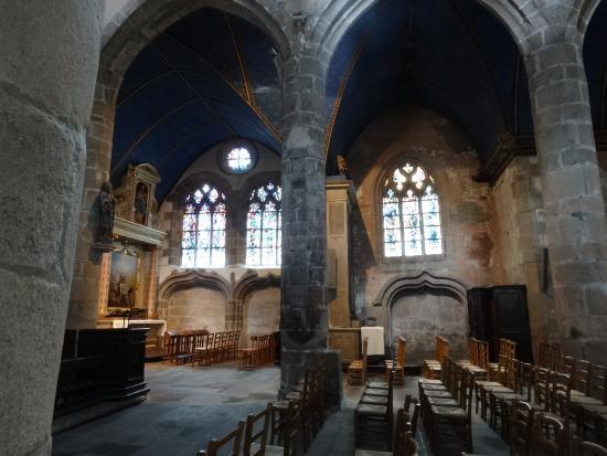 Chateau de Lannuguy : Eglise Saint Melaine