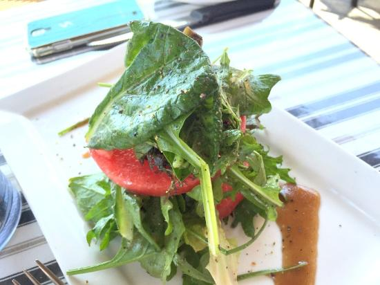 Bin23: Organic greens Watermelon salad