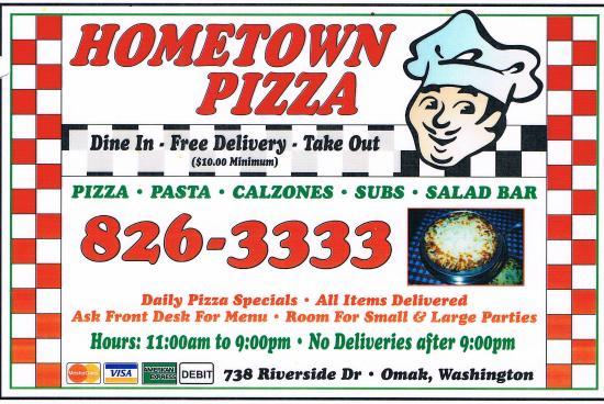 Omak, WA: Local Pizza