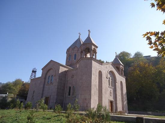 St. Mesrop Mashtots church in Kapan, general view