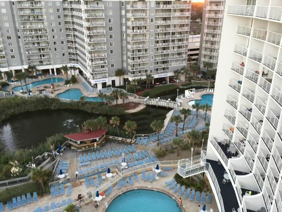 Sea Watch Resort Pools Many
