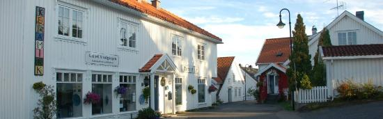 Asgardstrand, Norway: Smalgangen