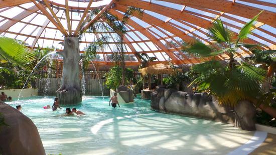 Camping Airotel L'Océan : piscine intérieur
