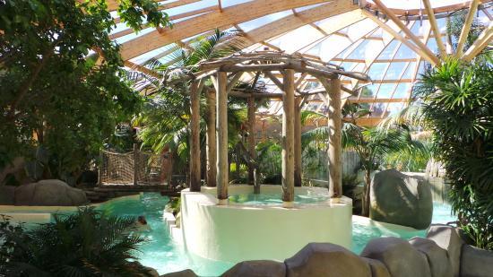 Camping Airotel L'Océan : piscine a bulles