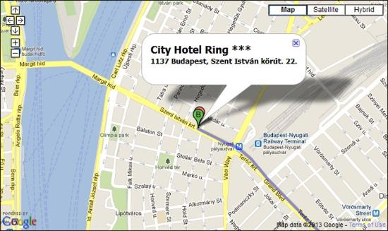City Hotel Ring Location