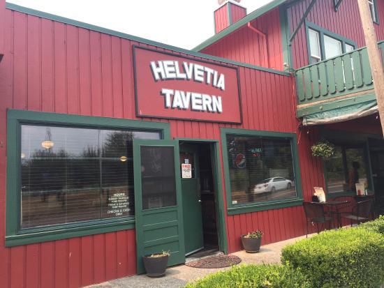 Entrance - Helvetia Tavern Photo