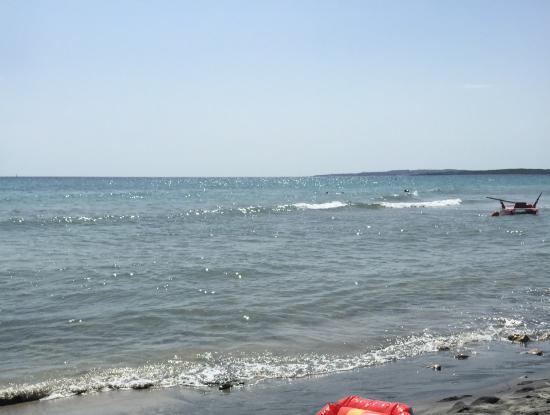 splendido angolo di mare... - Picture of Bagni Letizia, Moneglia ...