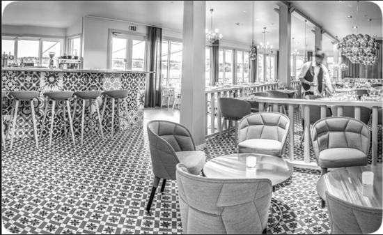 Ουψάλα, Σουηδία: Skarholmens restaurang