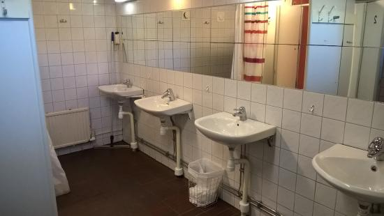 Angby Camping: Dusche