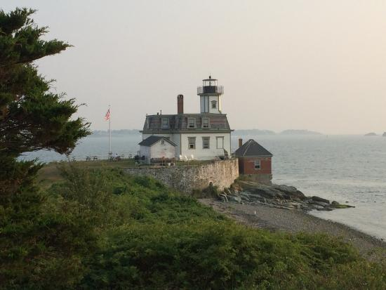 Rose Island Lighthouse: Sunrise, sunset, foggy or clear.  This lighthouse makes for a great photo every time.