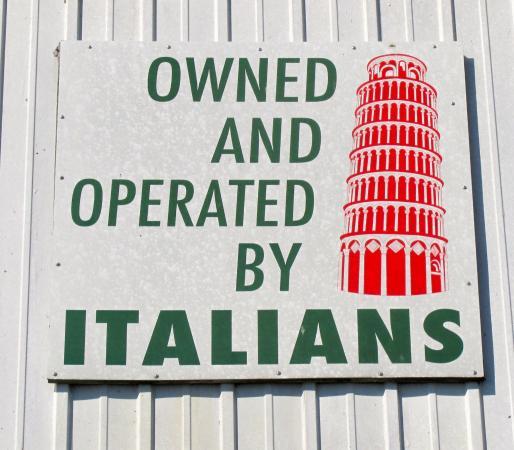 Coco's Italian Market & Restaurant: Sign