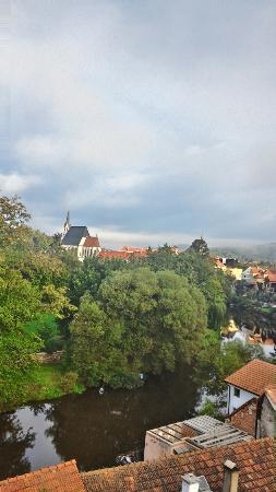 Penzion Prelat: view from our room
