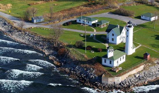 Cape Vincent, estado de Nueva York: Tibbetts Point Lighthouse