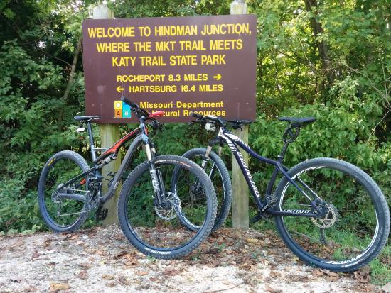 Hindman Junction Picture Of Katy Trail State Park Boonville