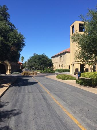 Palo Alto, Kalifornia: Walking around the campus...