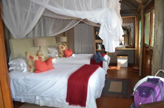 Chapungu Tented Bush Camp: Interior of tent