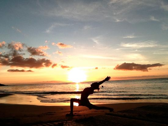 Langley Resort Hotel Fort Royal Guadeloupe Yoga At The Beach