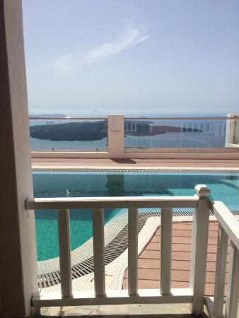 Ira Hotel & Spa: our terrace