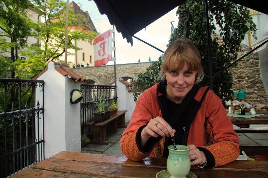 Krcma Barbakan : tea before medovina and dinner