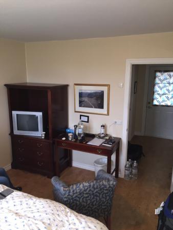 Hotel Vogar: Sicht vom Bett aus