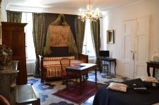 Le Chai de Marguerite: La chambre Carignan, la Romantique