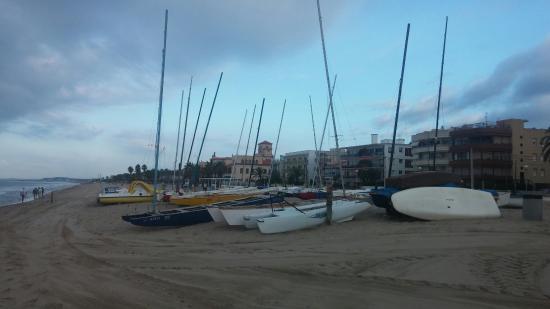 Segur de Calafell, Ισπανία: Playa de Calafell