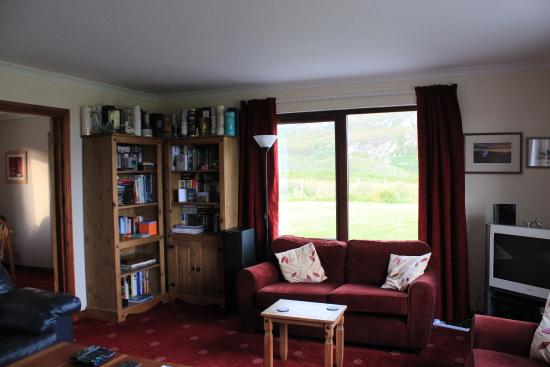 Isle of Colonsay, UK: Downstairs sitting room