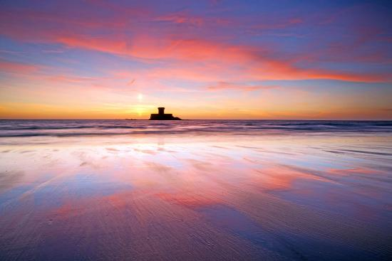 The Atlantic Hotel: St Ouen's Bay sunset