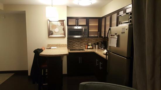 2 Bedroom Suite Bath 1 Of 2 Picture Of Staybridge Suites Seattle Fremont Seattle Tripadvisor