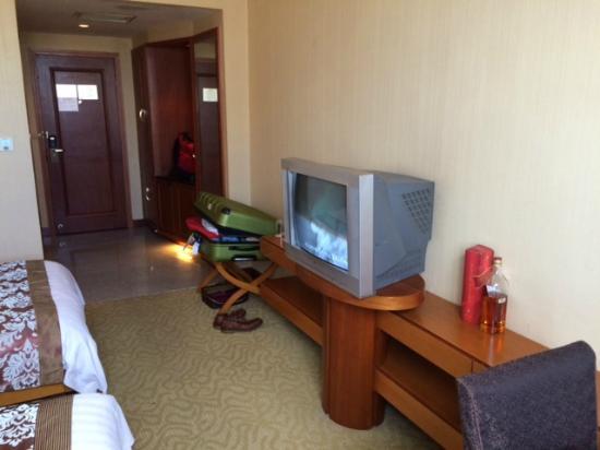 Jianyang, Kina: Romm w/old TV